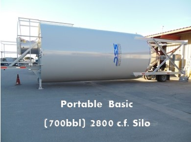 Portable Positive Feed Silo